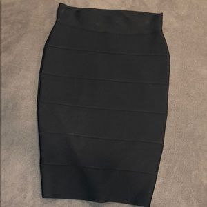 Bcbg herve ledger copy pencil skirt